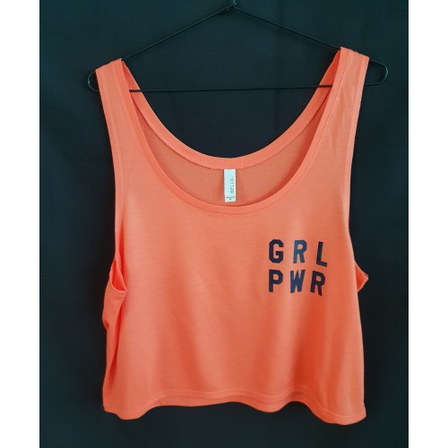 Coral Girl Power Vest